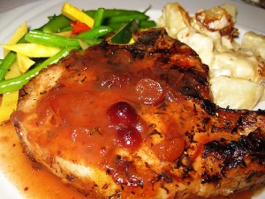 Glazed Pork Chop